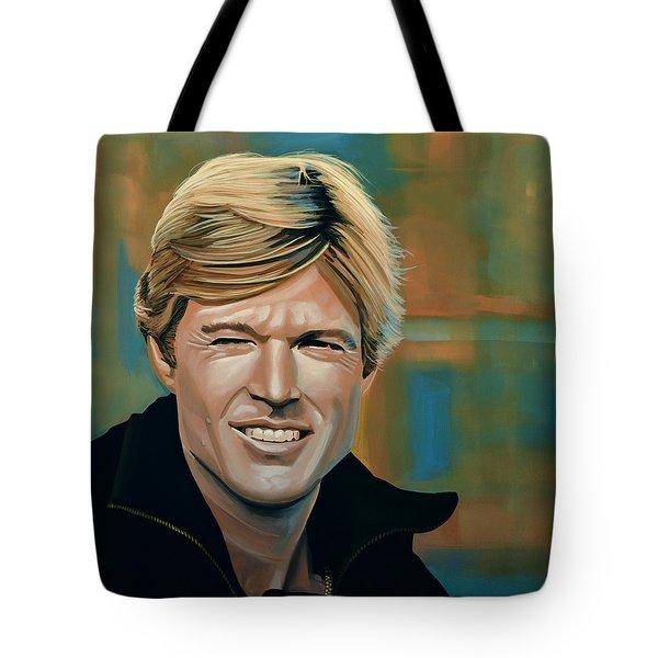 Robert Redford Tote Bag