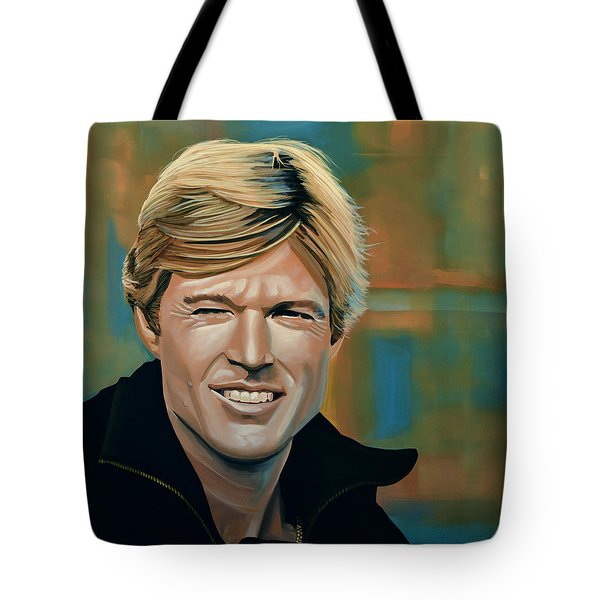 Robert Redford Tote Bag
