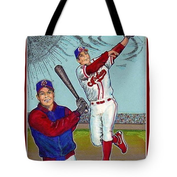 Roberto Alomar Hall Of Fame Tote Bag