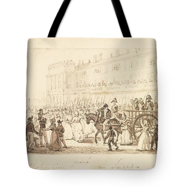Robespierre And His Accomplices Tote Bag