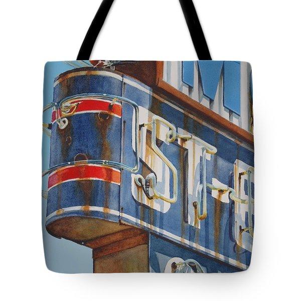 Robin And Motel Tote Bag