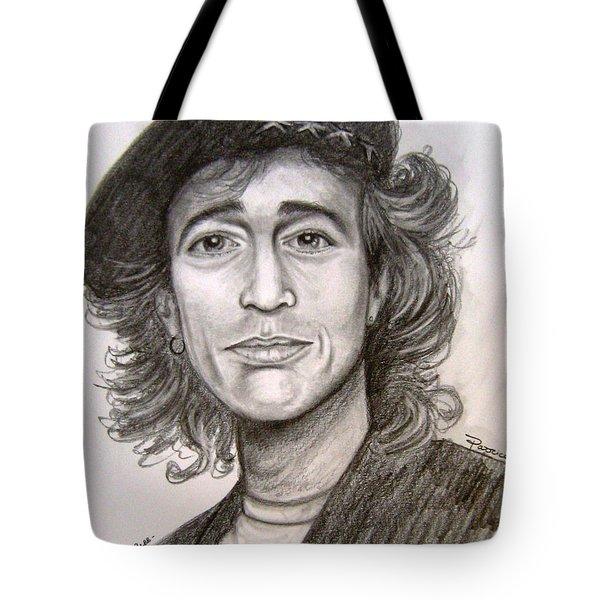Robin Gibb Tote Bag