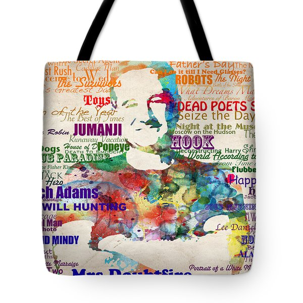 Robin Williams Tribute Tote Bag