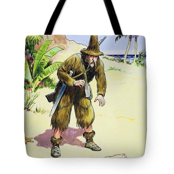 Robinson Crusoe, From Peeps Tote Bag