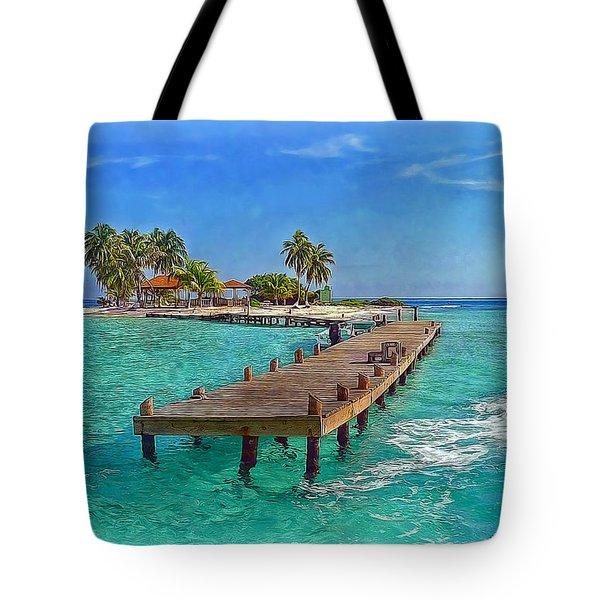 Robinson Island Tote Bag