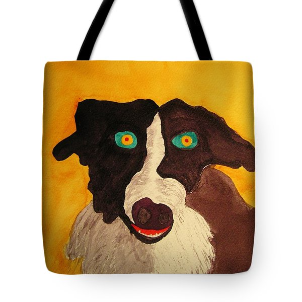 Tote Bag featuring the painting The Storyteller by Rand Swift