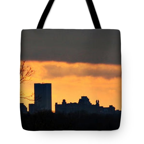 Rochester Skyline Tote Bag