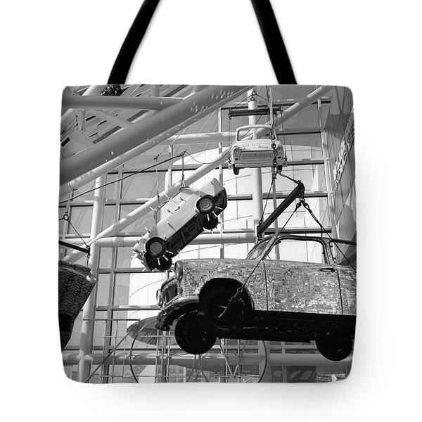 Rock And Roll Cars Tote Bag by Jenny Hudson