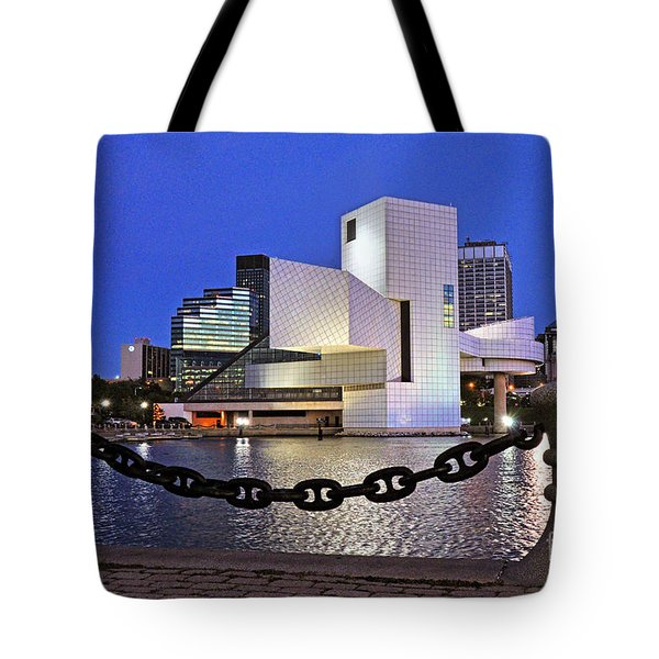Rock And Roll Hall Of Fame - Cleveland Ohio - 1 Tote Bag