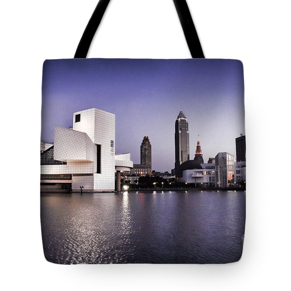 Rock And Roll Hall Of Fame - Cleveland Ohio - 2 Tote Bag