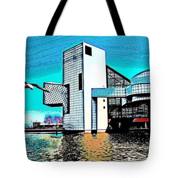 Rock And Roll Hall Of Fame - Cleveland Ohio - 4 Tote Bag