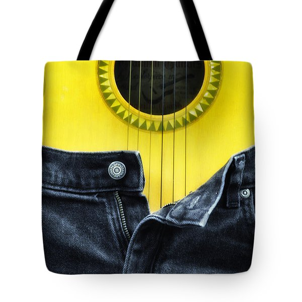 Rock And Roll Woman Tote Bag