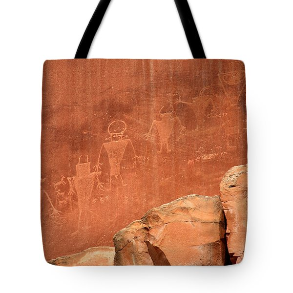 Rock Art Tote Bag by Aidan Moran