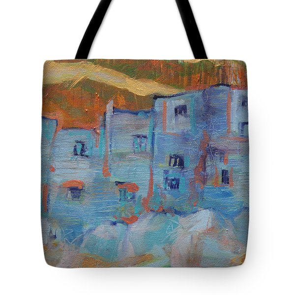 Rock City Abstract Tote Bag