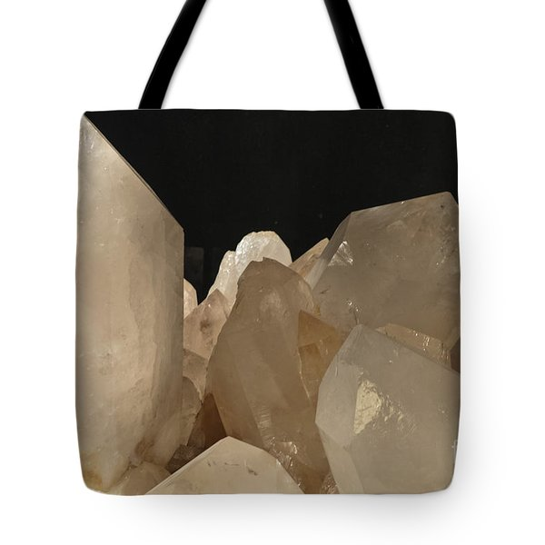 Rock Crystals Tote Bag by Heiko Koehrer-Wagner