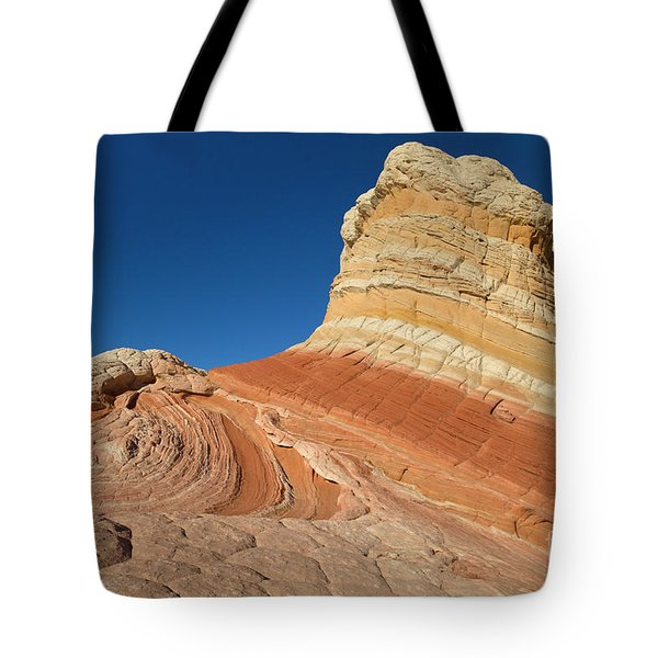Rock Formation Vermillion Cliffs N M Tote Bag