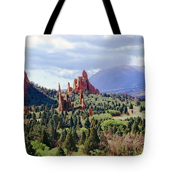 Rock Formations On A Landscape, Garden Tote Bag by Panoramic Images