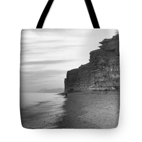 Rock Formations On The Beach, Burton Tote Bag