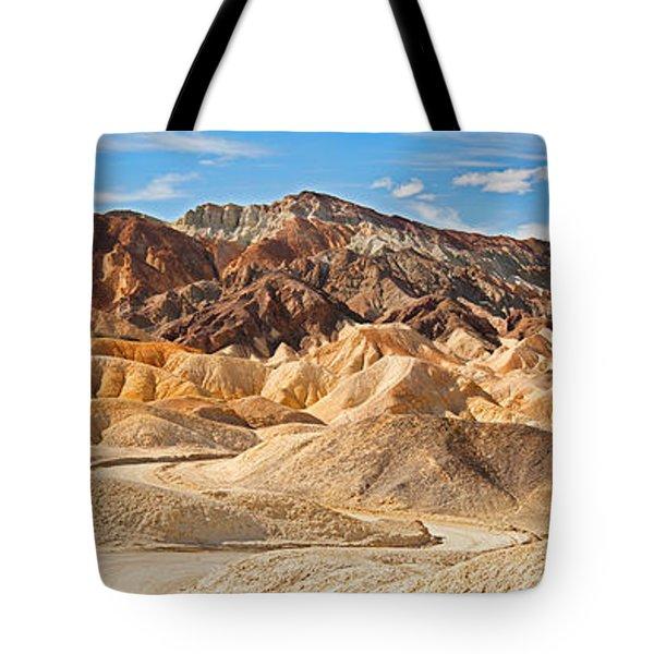 Rock Formations, Twenty Mule-team Tote Bag
