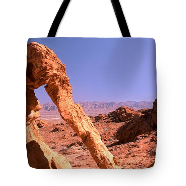 Rock Formations, Valley Of Fire State Tote Bag