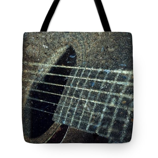 Rock Guitar Tote Bag