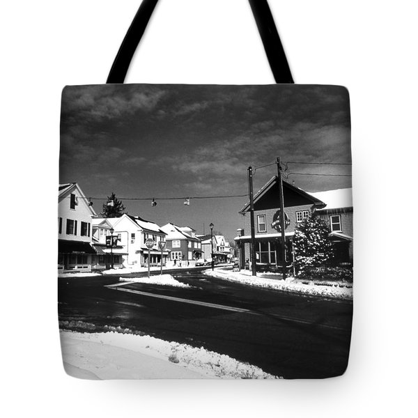 Rock Hall Maryland Tote Bag by Skip Willits
