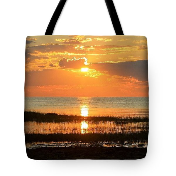 Rock Harbor Twilight Tote Bag