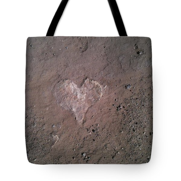 Rock Heart Tote Bag