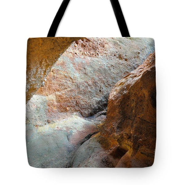 Rock Light Tote Bag by Cheryl McClure