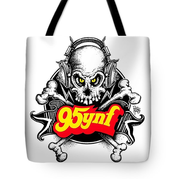 Rock 'n Roll Pirates Tote Bag by Scott Ross