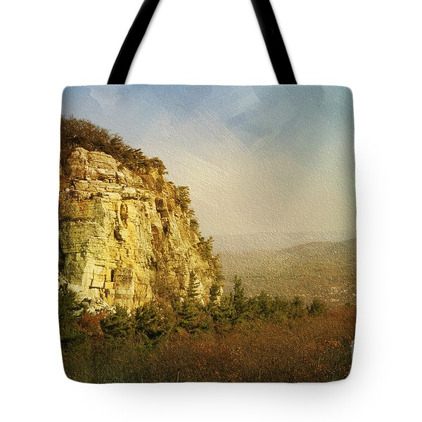 Rock Of Ages Tote Bag by A New Focus Photography