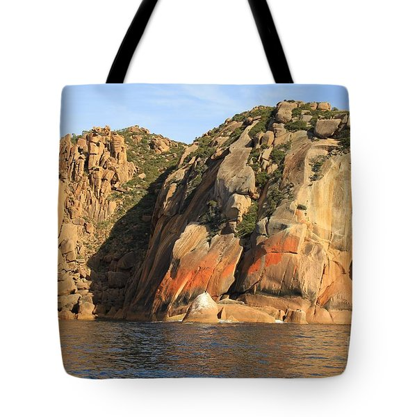 Rock Of Ages All Profits Go To Hospice Of The Calumet Area Tote Bag