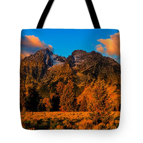 Rock Of Ages Panorama Tote Bag