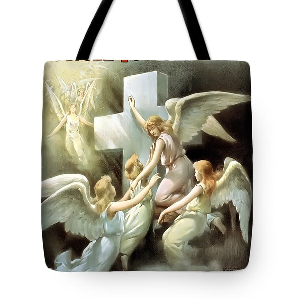 Rock Of Ages Tote Bag by Terry Reynoldson