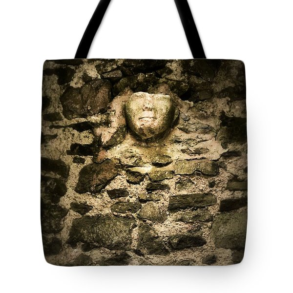 The Face In The Wall - Rock Of Cashel Tote Bag