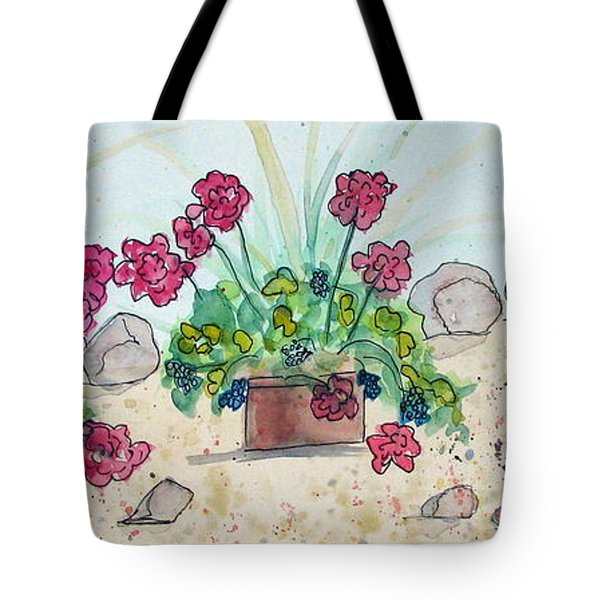 Rock Path Tote Bag