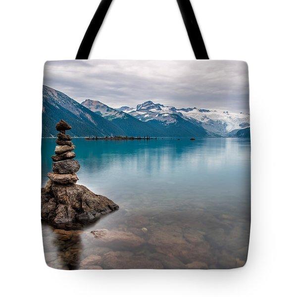 Rock Piles Tote Bag