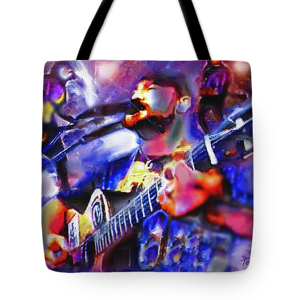 Tote Bag featuring the painting Rocker by Ted Azriel