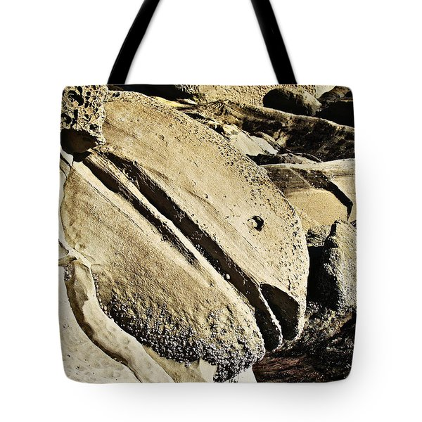 Tote Bag featuring the photograph Rockfish by Nick Kloepping