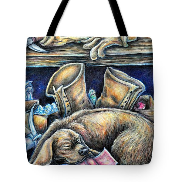 Rockhound Tote Bag by Gail Butler