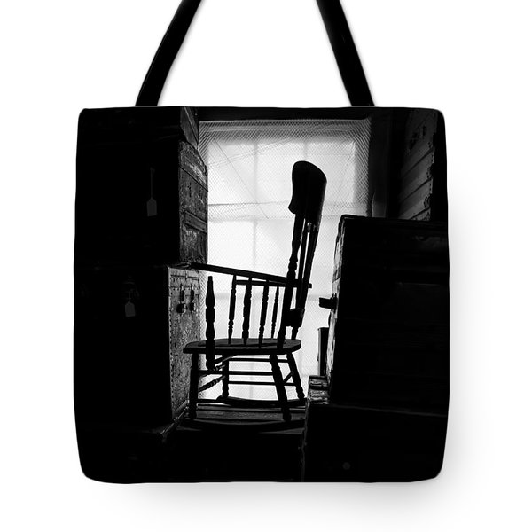 Rocking Chair Tote Bag by Bob Orsillo