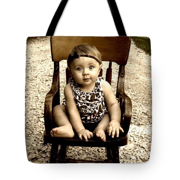 Rocks And Chair Tote Bag
