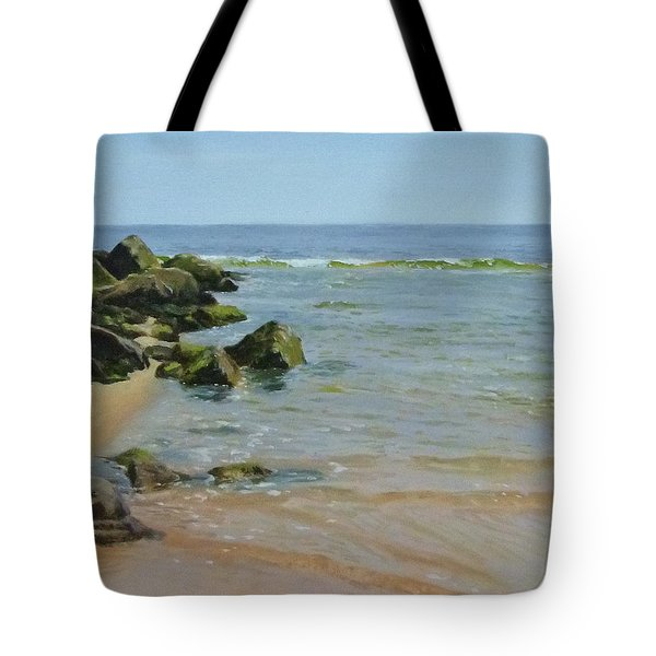 Rocks And Shallows Tote Bag