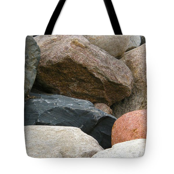 Rocks In Various Colors Tote Bag