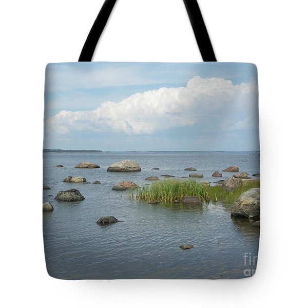 Rocks On The Baltic Sea Tote Bag