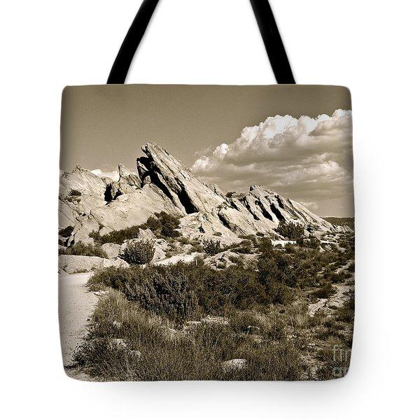 Rocks On Warm Wind Tote Bag