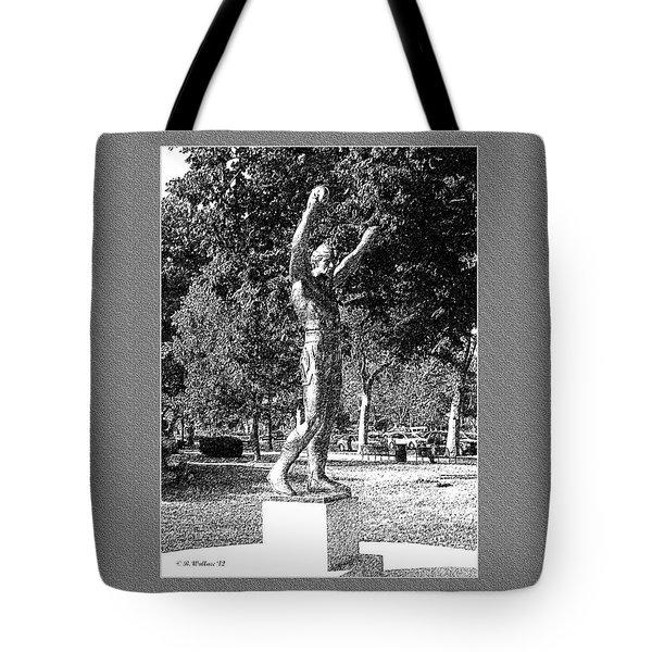 Rocky Balboa Tote Bag by Brian Wallace