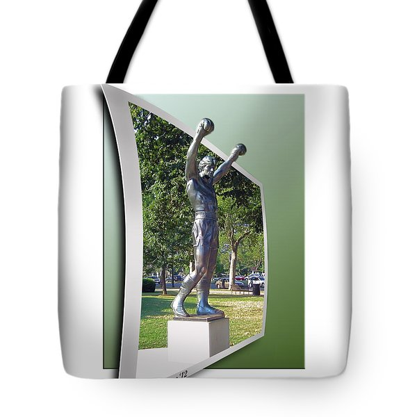Rocky Balboa - Oof Tote Bag by Brian Wallace