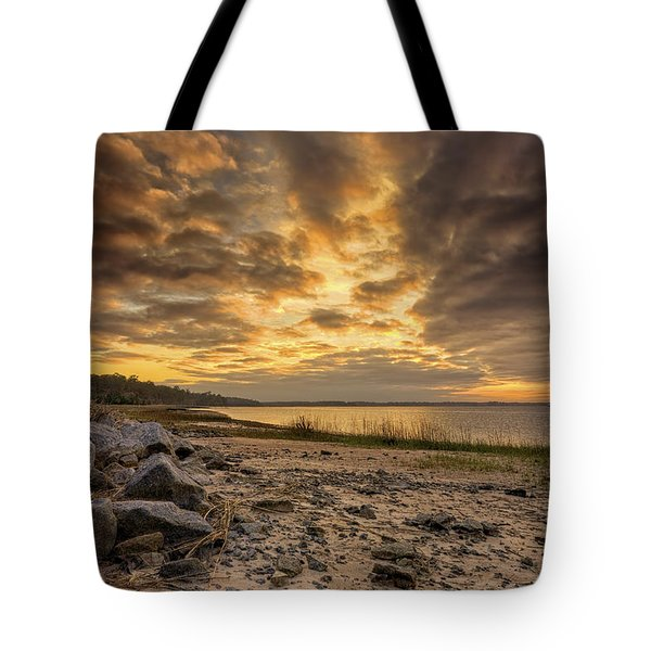 Rocky Beach Tote Bag by Phill Doherty