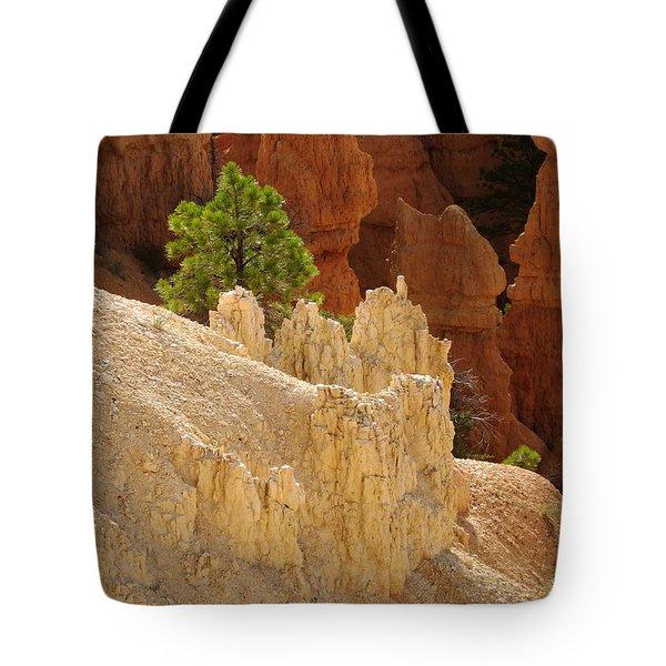 Rocky Embrace Tote Bag
